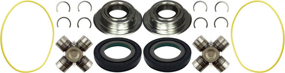 Dana Super 60 Front Axle Seal and Greasable U Joints 05-14 F-250 F-350 Superduty