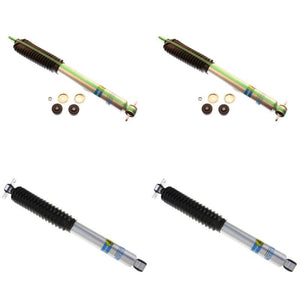 BILSTEIN SHOCK ABSORBERS FRONT+REAR 97-06 JEEP WRANGLER TJ 2.5-3.5 LIFT