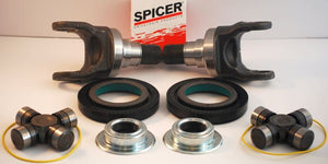 DANA SPICER OUTER AXLE STUBS, SEALS, U JOINTS FOR 2005-12 FORD F-250/F-350 4WD