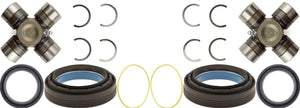 Dana 60 Front Axle Seals and U-Joint Kit For 1998-2004 F-250 F-350 Superduty