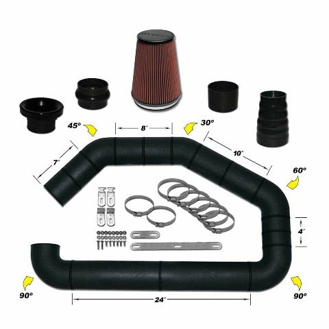 Airaid 101-300 Universal Air Intake Kit