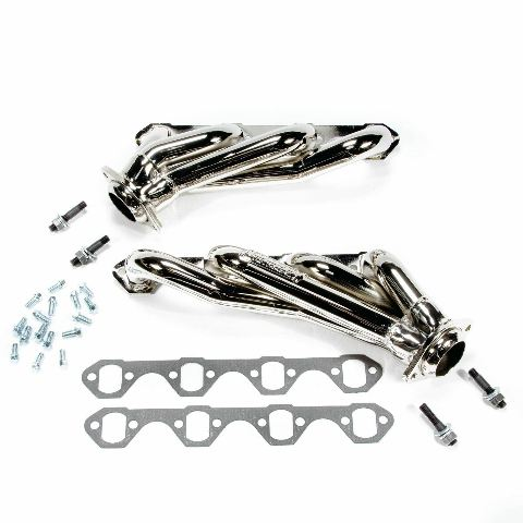 1979-1993 MUSTANG 351 SWAP 1-5/8 SHORTY HEADERS CHROME