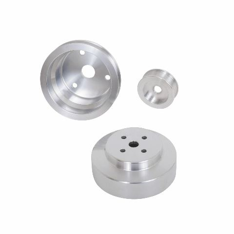 1988-1992 GM 305/350 F-BODY 3 PC UNDERDRIVE PULLEYS (ALUMINUM)