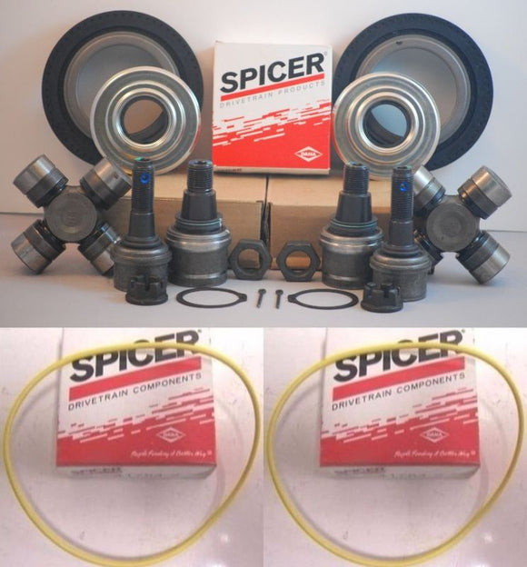 Ford F250/F350 Dana Super 60 2005-14 Axle Seals,U Joints,O Ring, Ball Joints Set