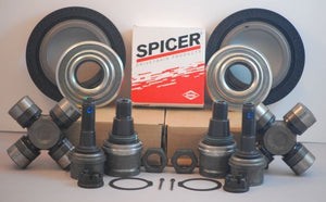 Ford F250/F350 Dana Super 60 2005-14 Axle Seals,U Joints,Ball Joints-Both Sides