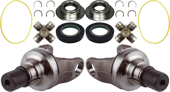 Dana Super 60 Axle Stubs / Seals / and Greasable U Joints For 05-14 F-250 F-350