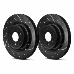 EBC GD7374 - 3GD Series Dimpled and Slotted Sport Rear Rotors