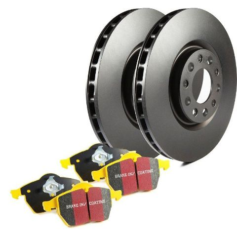 EBC Brake Kit S13KR1493 S13K (DP4/RK) - Rear