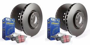 EBC S20K1001 - Stage 20 Front and Rear Brake Kit