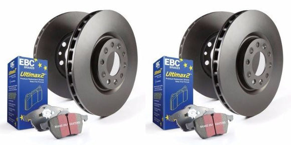 EBC S20K1155 - Stage 20 Front and Rear Brake Kit