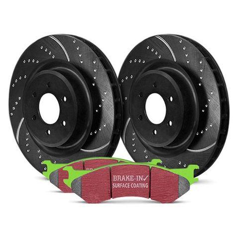 S3KR1046 EBC - Stage 3 Truck and SUV Rear Brake Kit