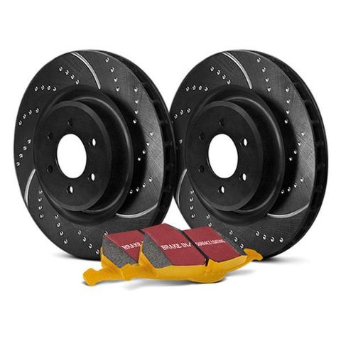 EBC S5KR1399 - Stage 5 Superstreet Rear Brake Kit