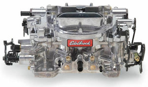 Edelbrock Reman Thunder AVS 500 CFM Carburetor - Manual Choke, Satin Finish
