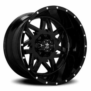 RBP Wheel 71R Avenger 20x12 8-180 et neg44 Full Black 124.1mm cb