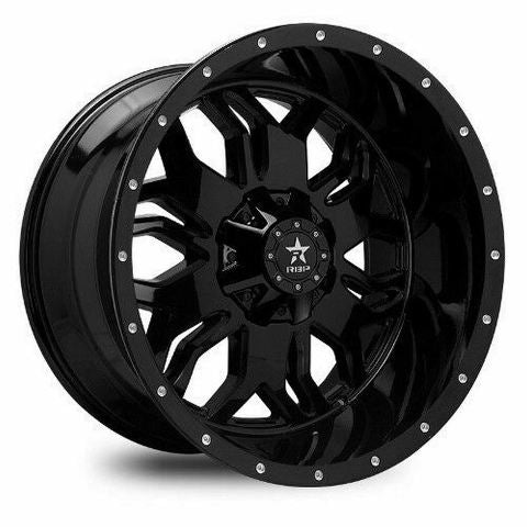 RBP Wheel 87R Blade 20x12 8-165.1/170 et neg44 Full Black 129mm cb
