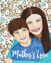 Load image into Gallery viewer, Mother's Love Inspirational Art Print of Mother and Son