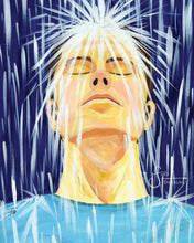 Load image into Gallery viewer, Forgiven Art Print of Adult Man in Rain