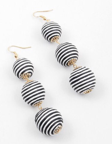 Striped Cha Cha Drops