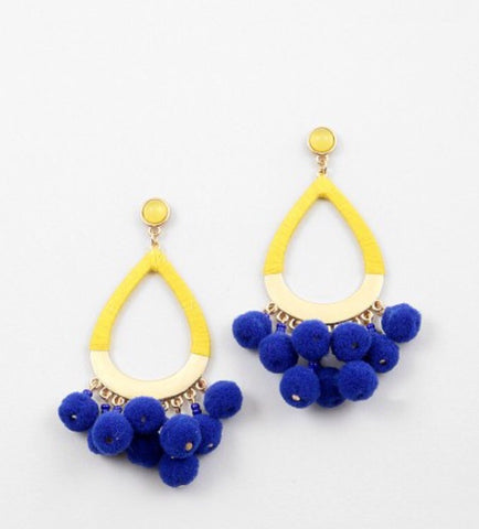 The Gypsy Pom Pom Earring