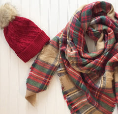 """The Classic"" Blanket Scarf"