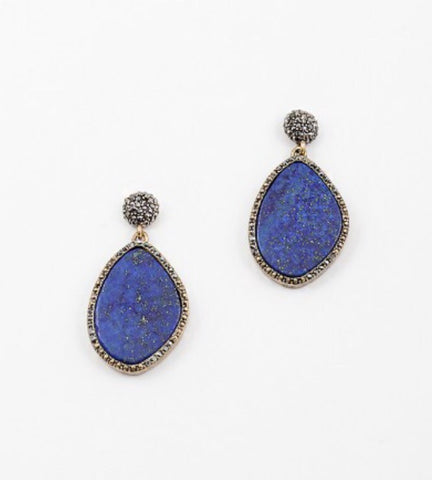 Cobalt Statement earrings