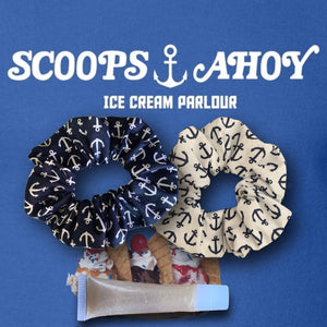 Scoops Ahoy⚓️ Gloss and Scrunchie bundle
