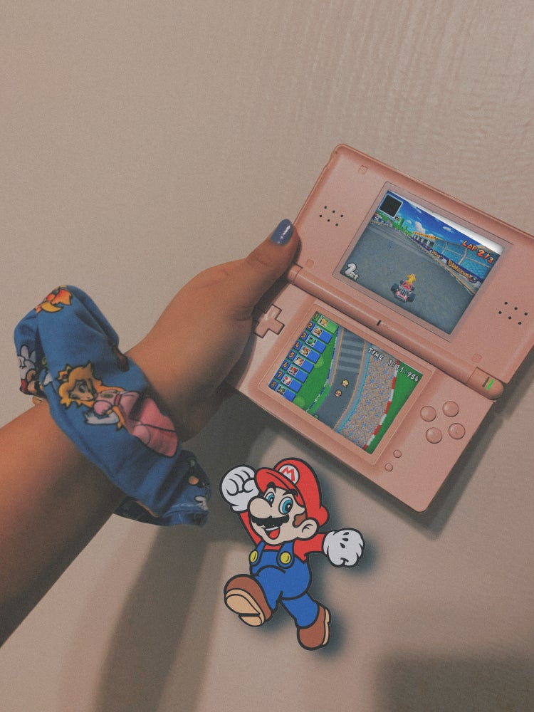 Super Mario Bros. Scrunchie