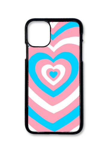 Trans Hearts Phone Case