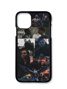 Captain America and The Winter Soldier Aesthetic Phone Case