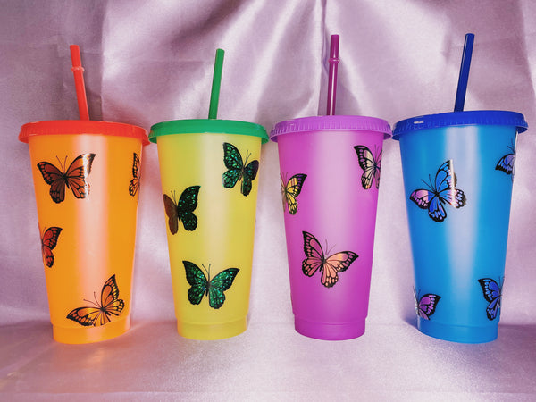 Butterfly Cold Cup