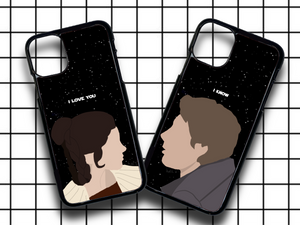 Leia & Han (2 cases) phone case duo pack