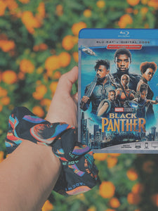 Black Panther Scrunchie