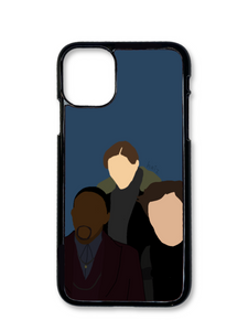 Sam, Bucky, and Zemo Phone Case