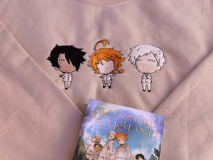 The Promised Neverland Embroidered Sweatshirt