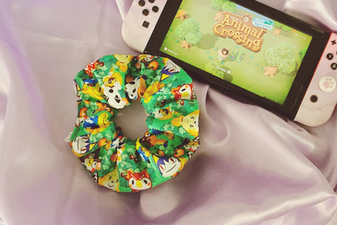 Animal Crossing Scrunchie