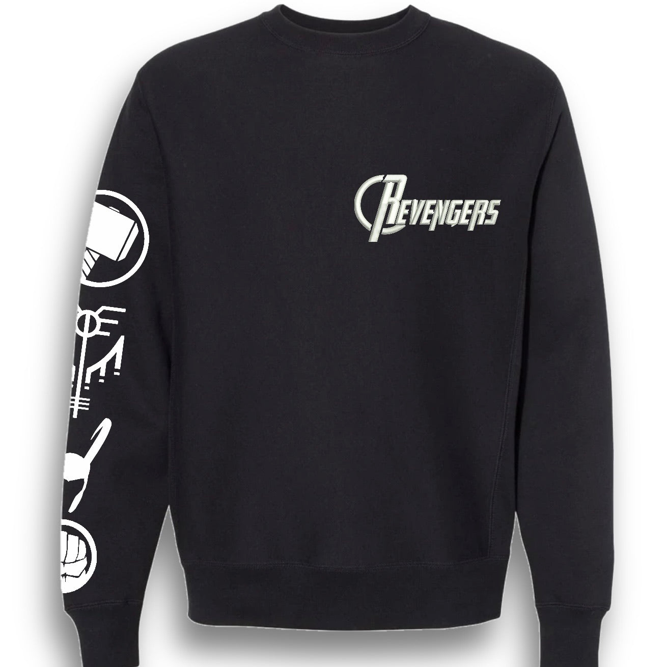 Revengers embroidered pullover Sweatshirt