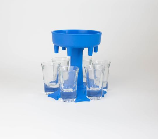ShotJet - Shot Dispenser and Drink Carrier