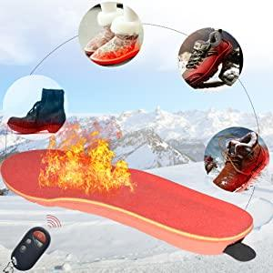 CozyFeet - Rechargeable Heated Insoles