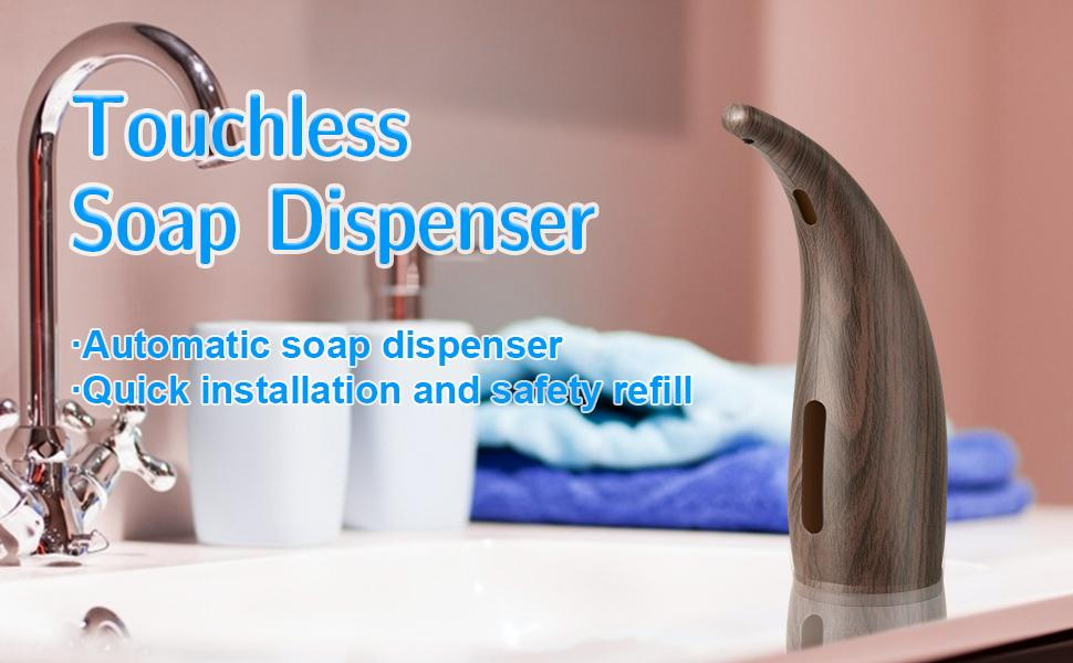 EasyClean - Touchless Motion Activated Soap Dispenser