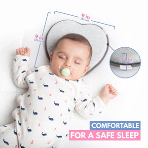Spotzie™ Safe Baby Pillow