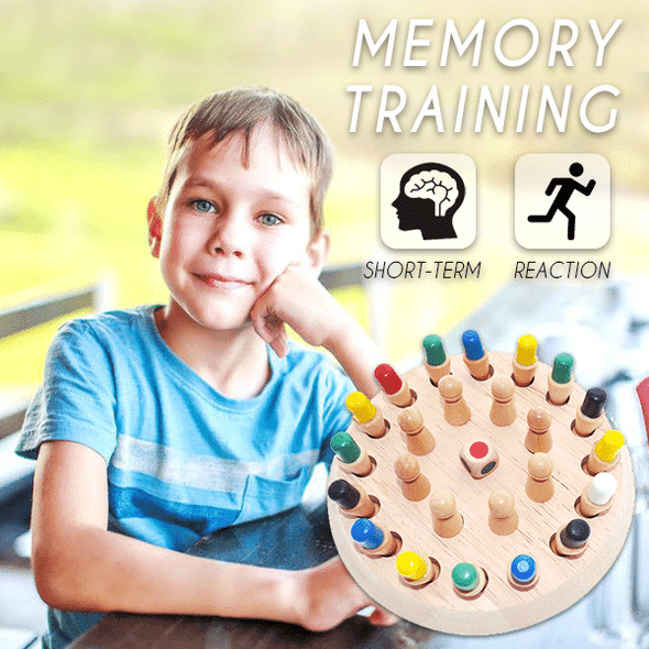 MemoryMatch - Wooden Memory Game