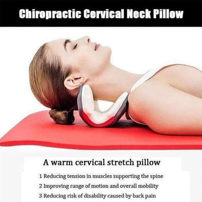 NeckRelief - Premium Stretcher Pillow For Neck and Shoulder Pain Relief