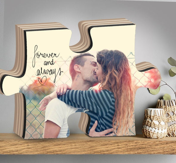 Handmade Personalized Wood Puzzle Photo