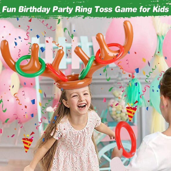 TossUp - Christmas Antler Ring Toss Game