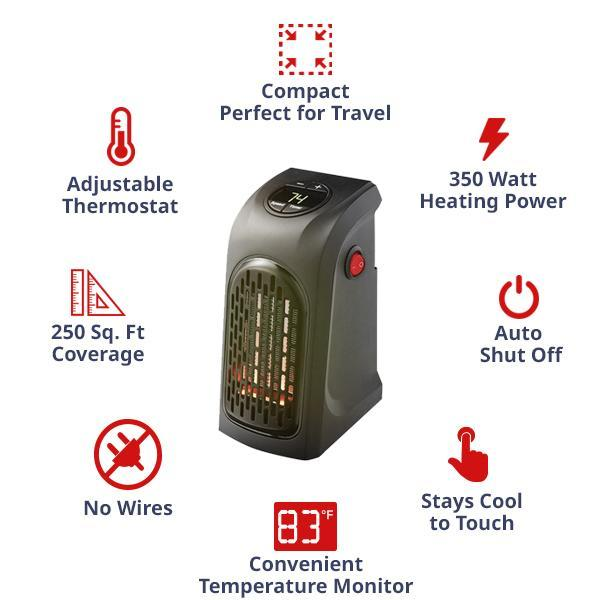 InstaWarmth - Compact & Power-Saving Electric Heater