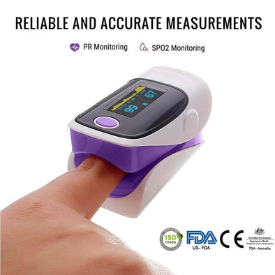 OxyPulse™ Digital Finger Pulse Oximeter  [ NEW 2020 MODEL ]