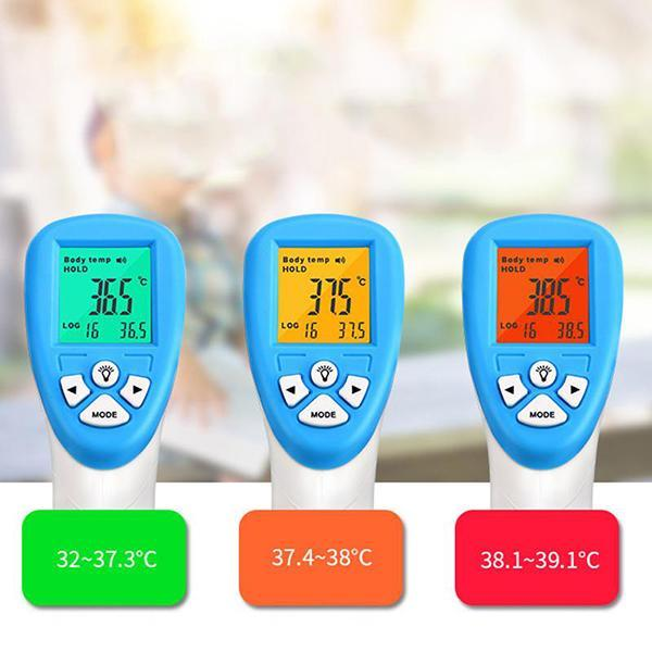 Professional Digital Infrared Forehead and Ear Thermometer