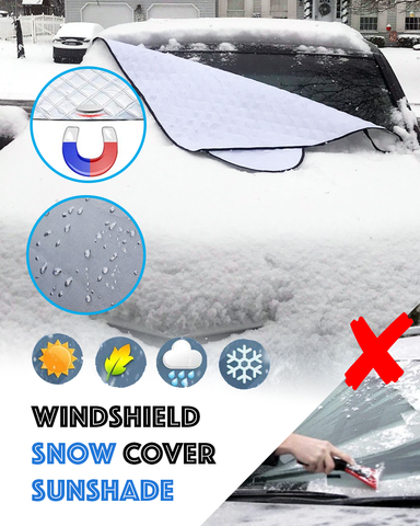 Snowscape - Magnetic Windshield Snow Cover
