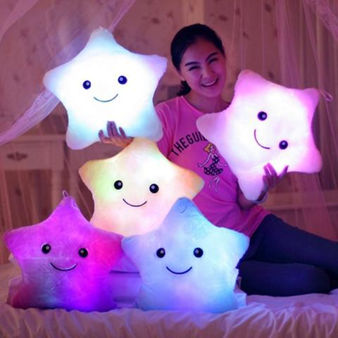 LumiStar - Glowing Star Pillow