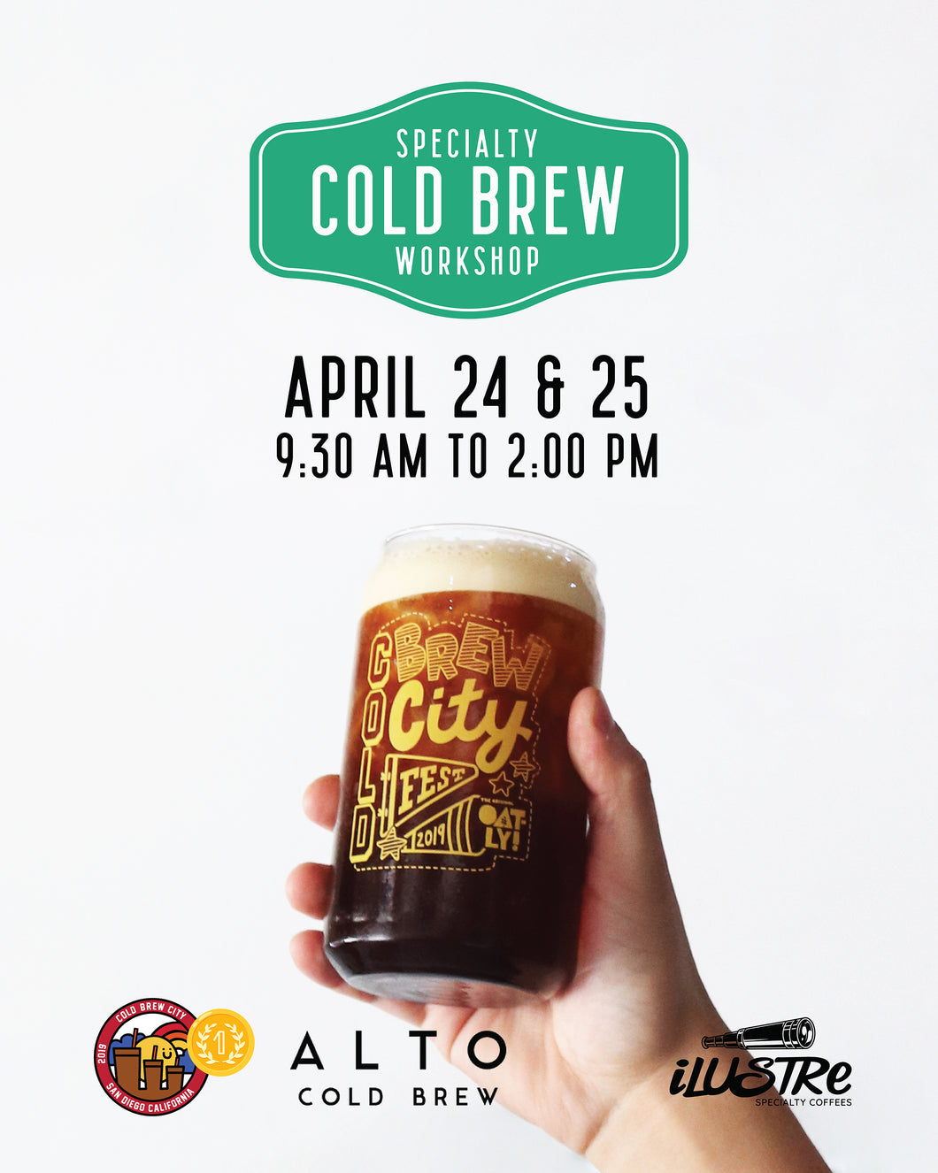 Specialty Cold Brew Workshop - 24 y 25 abril